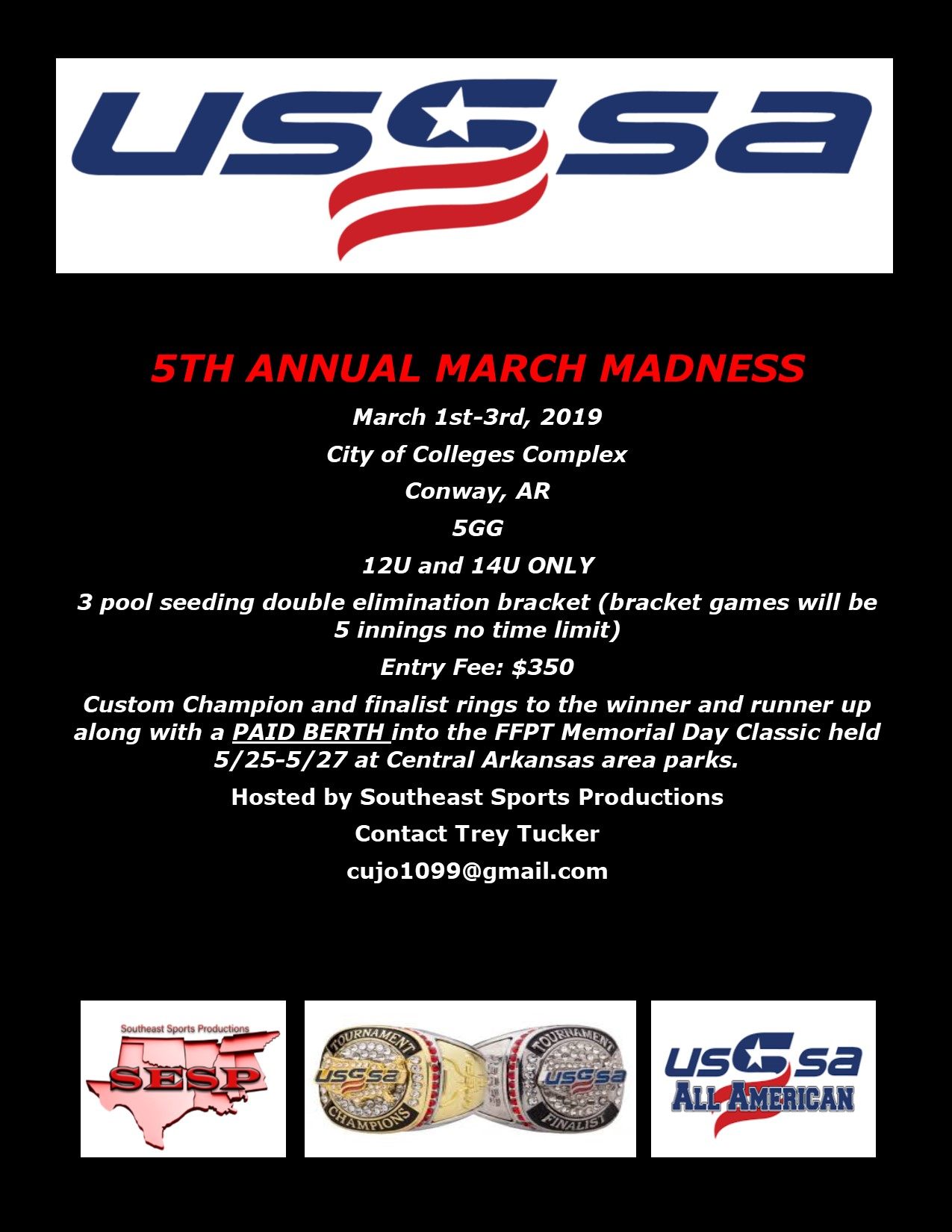 2019 march madness flyer
